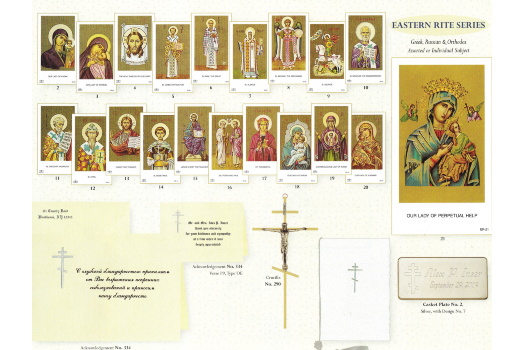 Orthodox Eastern Rite Cards